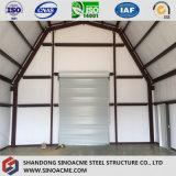 Entrepôt léger préfabriqué d'agriculture de bâti en acier