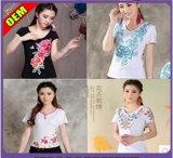 La moda Niza Imprimir Camiseta para mujeres (W210)