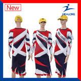 Напечатано платья Сублимация Cheerleading форму спорта износа