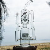 Fantastisches sehr großes Doppeltes bereiten Glas-rauchende Wasser-Rohre auf (ES-GB-286)