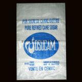 パッキング尿素肥料のための100%の新しいPPによって編まれる袋、化学材料