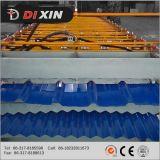 Colorare il rullo trapezoidale d'acciaio dello strato del tetto ondulato Glalvanized di doppio strato della macchina dello strato del tetto della lamina di metallo che forma la macchina