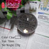 Dsjuggling 70mm de acrílico transparente Póngase en contacto con la magia de bola de malabarismo