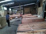 Núcleo do Poplar da película de Brown da madeira compensada de China para construções