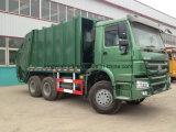 Compactador De Marca Sinotruk Caminhão De Lixo / Caminhão De Resíduos Para Compactador
