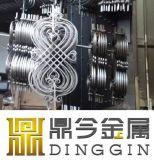 Nudo de China la decoración de hierro forjado diseño