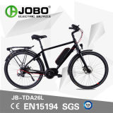 Бесщеточный двигатель электрический горные велосипеды с подвесным двигателем Pedelec Ebike (JB-TDA26L)