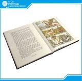 Impressão do livro da qualidade da cor cheia