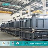 Ld-Al forno de têmpera de vidro plano contínuo de poupança de energia