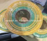 중국 제조자에서 녹색 노란 열 수축가능 배관 또는 소매