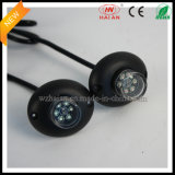 2X6 Amber LED Hide un Way Strobe Lights