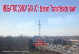 Torretta della trasmissione di tensionamento di Megatro 220kv 2A3 Jc1