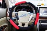 Кожаный крышка рулевого колеса, имеющяяся в 3 по-разному цветах (JSD-P0030)