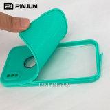 Caja impermeable ligera delgada del teléfono para el caso de la prueba del agua del iPhone 8