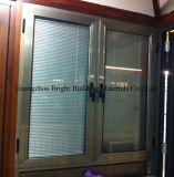Indicador de alumínio das cortinas do Casement do Sell quente