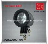 2 luz LED del trabajo de la pulgada 10W LED de la luz de conducción de la luz LED del camino