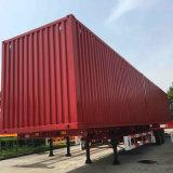 세 배 차축 40-80 톤 밴 유형 화물 세미트레일러