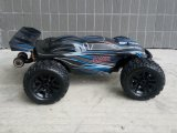 Electric Brushless RC Transmissor de carro 2 canais RC fora da estrada Truggy 1/10 Escala 2.4GHz
