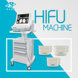 Máquina Hifu do elevador de face da alta qualidade para a remoção do enrugamento
