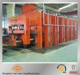 Placa grande hidráulica do tamanho que Vulcanizing curando a máquina da imprensa com o GV do ISO BV