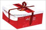 Напечатанная коробка подарка косметического картона дух бумажная упаковывая