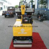 두 배 드럼 소형 도로 롤러 쓰레기 압축 분쇄기 (FYL-800C)의 뒤에 도보