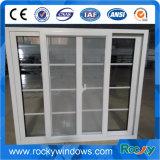 Fenêtre coulissante en aluminium avec moustiquaire