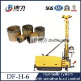plate-forme de forage hydraulique de faisceau de câble de 2000m avec nq, Bq, QG, outils Drilling de Pq