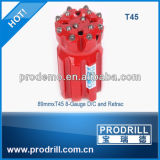 64mm/76mm/89mm/102mm Thread Button Bits для Bench Drilling