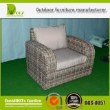 PET Rattan u. Aluminium-Möbel, im Freienrattan-Sofa