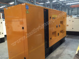 звукоизоляционный тепловозный генератор 150kVA с двигателем 1006tag Lovol для проектов здания
