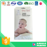 HDPEのTシャツの赤ん坊のおむつ袋