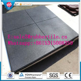 Antibacterias EPDM Recycled Indoor Rubber Tile Gym Rubber Flooring