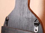 Обыкновенный толком деревянный шкаф вина для штанги