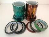 Pet enmascaramiento de silicona verde de alta temperatura y la cinta de empalme
