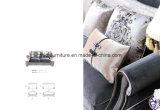 Tecido clássico sofá para Sala Escura