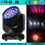 INÍCIO 19LEDs * 12W RGBW Hawkeye Stage LED Moving Head