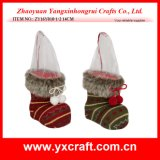 عيد ميلاد المسيح زخرفة ([ز11س256-1-2]) [سنتا] سكّر نبات حذاء هبة مصنع