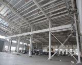 Edifício rápido da construção de aço do painel de sanduíche da configuração da fonte da fábrica