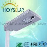 옥외 보장 3 년 1개의 태양 LED 가로등 15W에서 모두