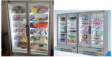 신선한 과일 전시 냉각기는 냉장고 전시 진열장을 냉장했다