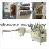 Trayless máquina de embalagem de bolachas e biscoitos