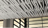 Aluminiumleitblech-Decke des neuen Entwurfs-30W*150h