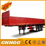 ISO CCC 40t 3 차축 측벽 트레일러