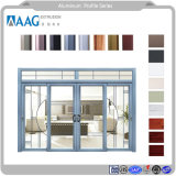 Perfil de aluminio extruido para uso industrial o perfil de aluminio con aleación de aluminio para Ventana y puerta y pared de cortina