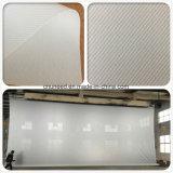 Do som branco da tela de projeção do PVC tela transparente da tela