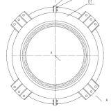 Наружная шестерня переключения передач поворотного подшипника поворотного кольца подшипника Ркс. 061.20.1094