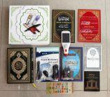 2013 8GB LCD 새로운 알루미늄 Quran는 펜 Qm9800를 읽었다 (Sahih 이슬람교도, Tajweed, Bukhari 의 Urdu, 한마디 한마디 Tafseer에)