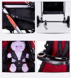 Doppeltes anerkanntes Doppelbaby-HandelsSpaziergänger des Baby-Kinderwagen-En1888 mit Spitzenverkauf paart Baby-Spaziergänger