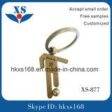 新しいギフトはカスタム金属3D Keychainを卸し売りする